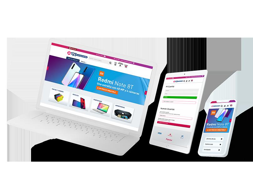 Ilustración de diseño web a medida